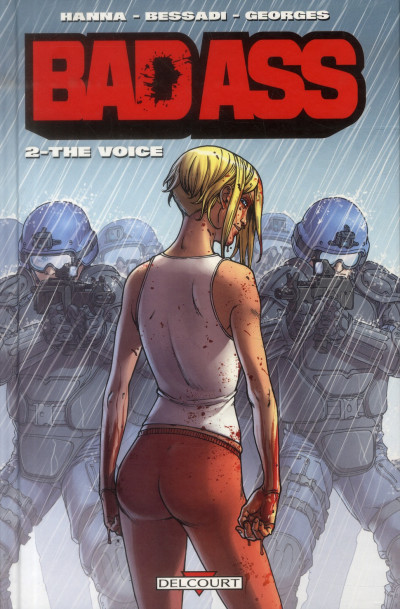 Couverture bad ass tome 2 - the voice