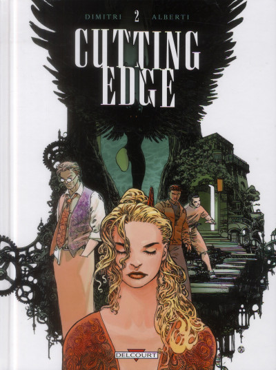 Couverture cutting edge tome 2