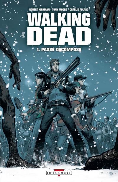 Couverture walking dead tome 1 - passé décomposé + dvd