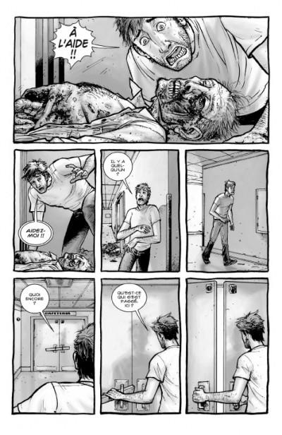 Page 5 walking dead tome 1 - passé décomposé + dvd