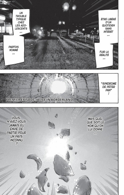 Page 4 Alice in Borderland tome 1