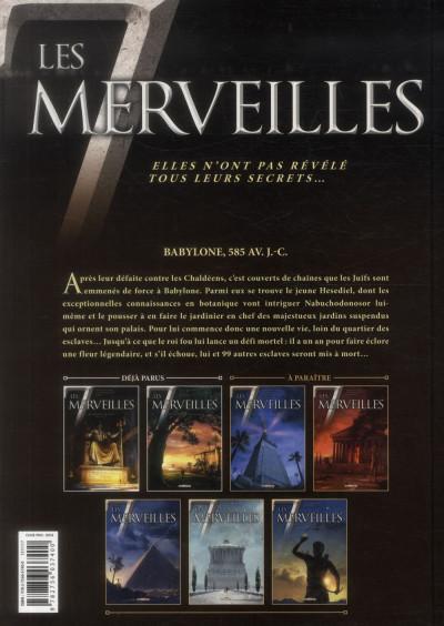 Dos Les 7 Merveilles tome 2