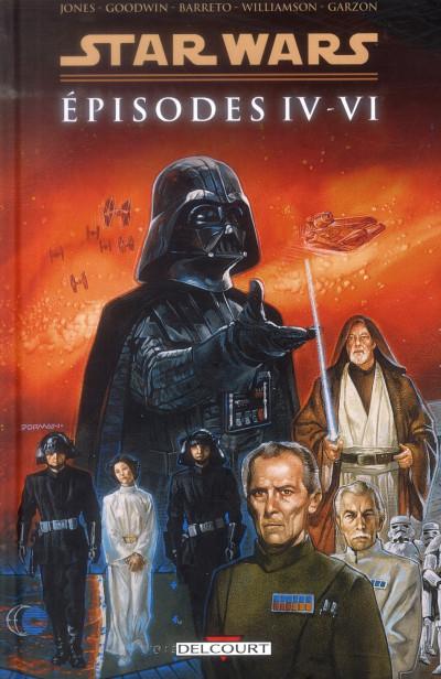 Couverture Star Wars épisodes IV à VI - intégrale