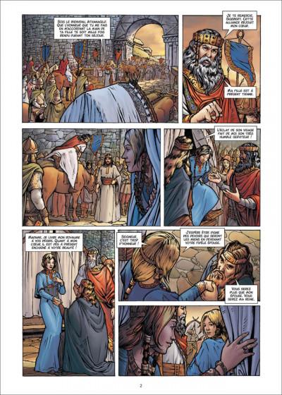 Page 2 Les Reines de sang - Frédégonde, la sanguinaire tome 1