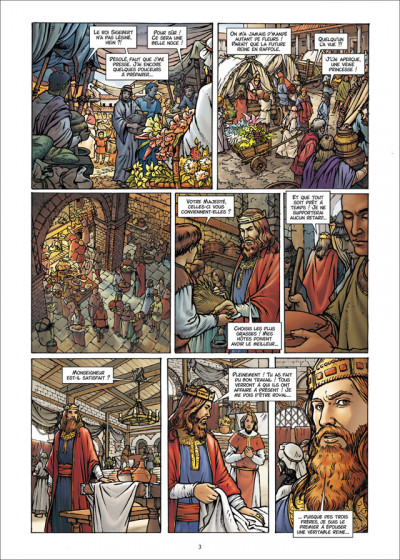 Page 3 Les Reines de sang - Frédégonde, la sanguinaire tome 1