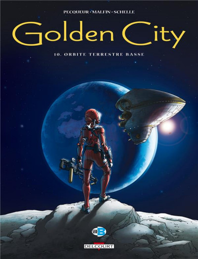 Couverture Golden city tome 10