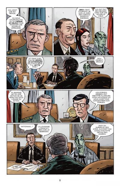 Page 2 B.P.R.D. T.11 - le roi de la peur