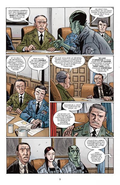 Page 3 B.P.R.D. T.11 - le roi de la peur