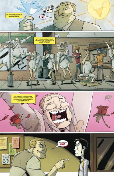 Page 2 Tony Chu, détective cannibale T.5 - première ligue