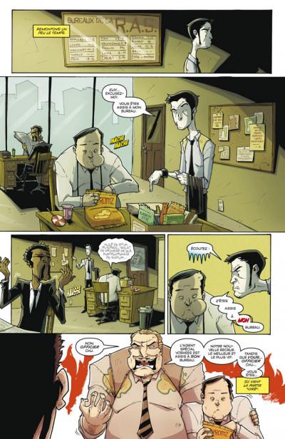 Page 3 Tony Chu, détective cannibale T.5 - première ligue