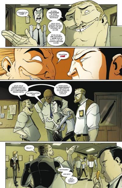 Page 4 Tony Chu, détective cannibale T.5 - première ligue