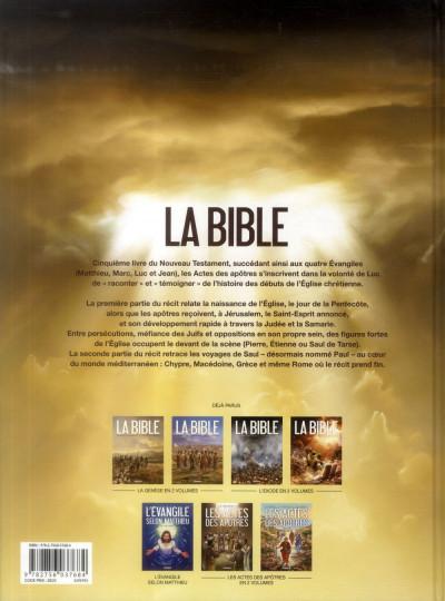 Dos La Bible - Le Nouveau Testament - Les Actes des Apôtres Tome 2