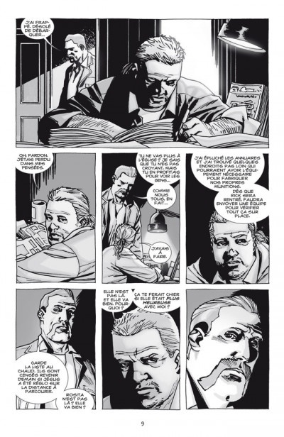 Page 3 Walking dead tome 17 - terrifiant