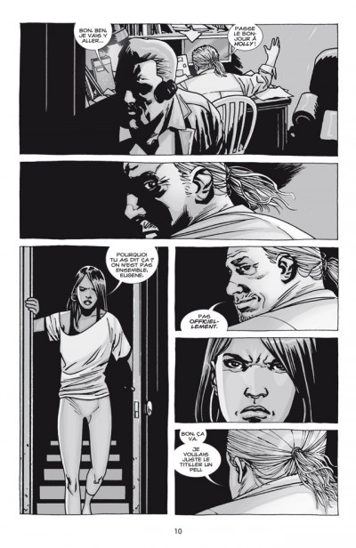 Page 4 Walking dead tome 17 - terrifiant