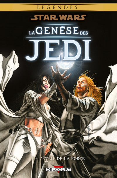 Couverture Star wars - la genèse des Jedi tome 1