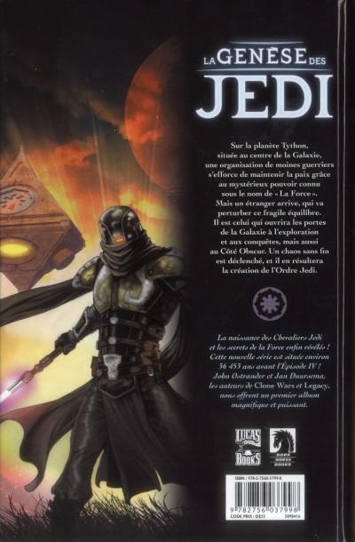 Dos Star wars - la genèse des Jedi tome 1