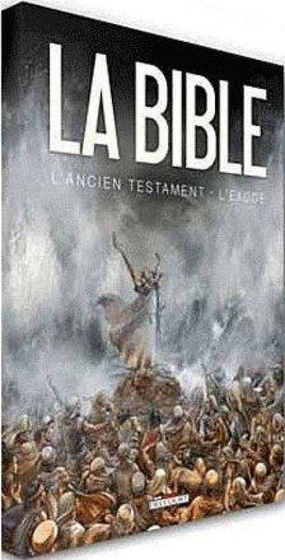 Couverture la bible, l'ancien testament - l'exode tome 1 et tome 2