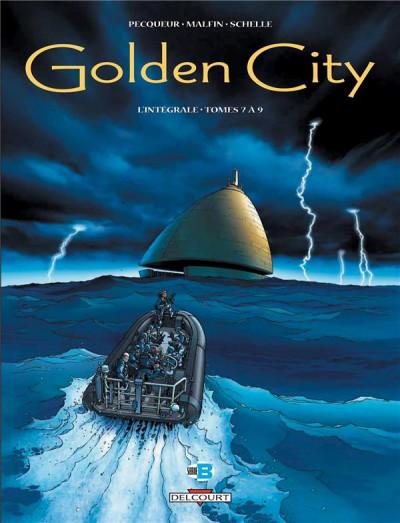 image de golden city - intégrale tome 7 à tome 9