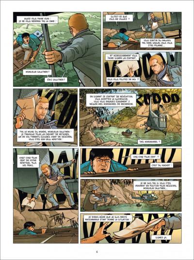 Page 4 Chasseur d'héritiers Tome 1 - Les Sept Vierges