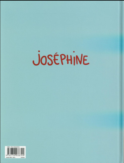 Dos Joséphine tome 1