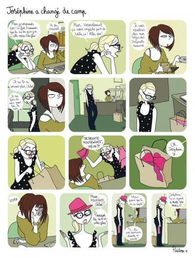 Page 2 Joséphine tome 3 - change de camp