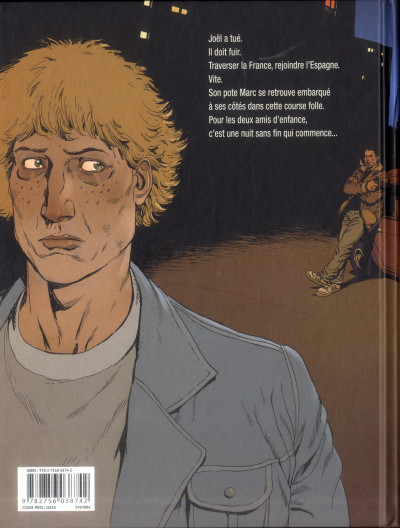 Dos nuit noire - intégrale tome 1 à tome 3