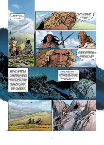 Page 2 La guerre du feu tome 2 - sur les rives du grand fleuve