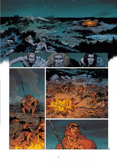 Page 3 La guerre du feu tome 2 - sur les rives du grand fleuve