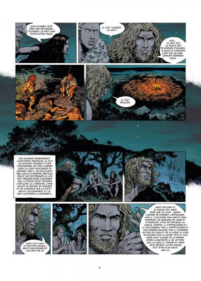 Page 4 La guerre du feu tome 2 - sur les rives du grand fleuve