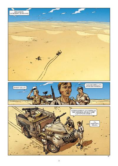 Page 1 Lignes de front tome 5 - Bir Hakeim