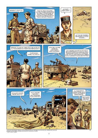 Page 3 Lignes de front tome 5 - Bir Hakeim