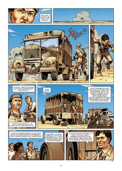Page 4 Lignes de front tome 5 - Bir Hakeim