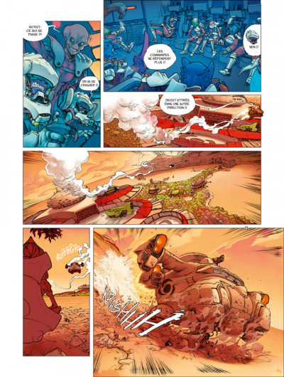 Page 4 Sillage - premières armes tome 1