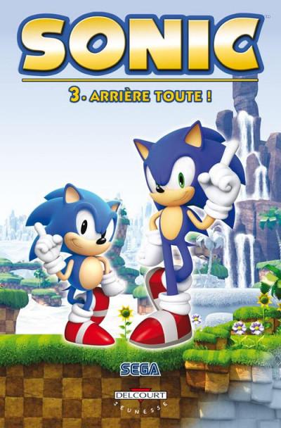 image de Sonic tome 3 - arrière toute