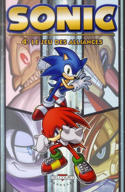 image de Sonic tome 4 - le jeu des alliances
