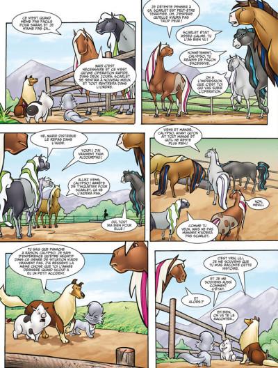 Page 2 Horseland tome 8 - stars d'un soir