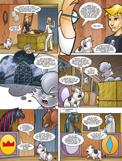Page 4 Horseland tome 8 - stars d'un soir