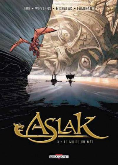 Couverture Aslak tome 3 - Le Milieu du mât