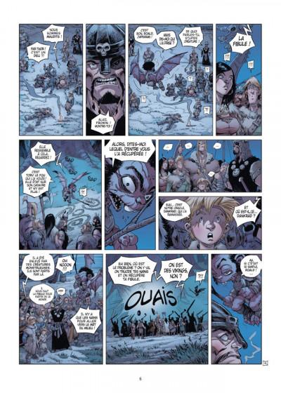 Page 4 Aslak tome 3 - Le Milieu du mât