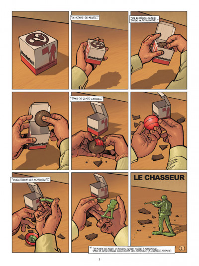 Page 1 Wonderball tome 1 - Le Chasseur