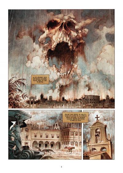 Page 1 Le pape terrible tome 4 + ex-libris offert