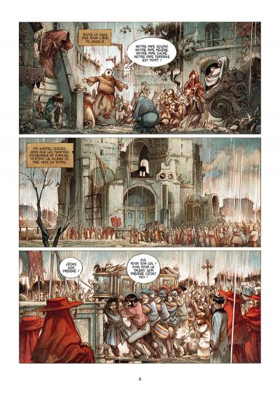 Page 2 Le pape terrible tome 4 + ex-libris offert