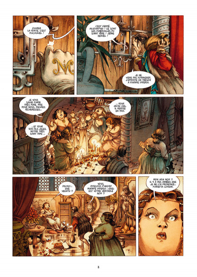 Page 4 Le pape terrible tome 4 + ex-libris offert