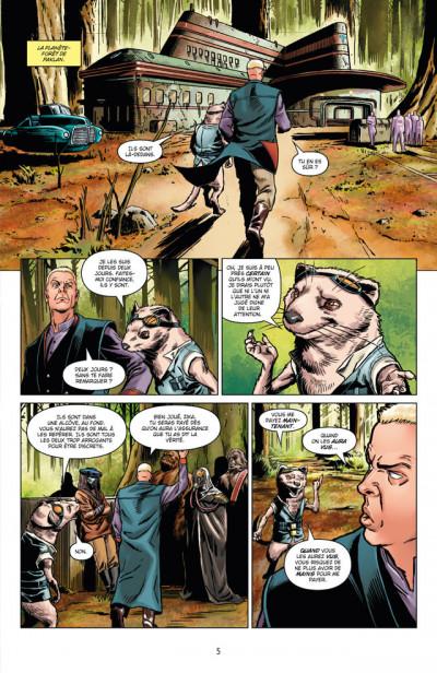 Page 1 Star Wars - le côté obscur tome 13 - Dark Maul, peine de mort