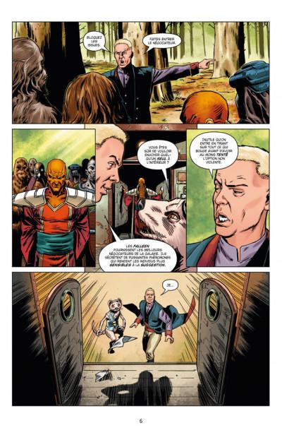 Page 2 Star Wars - le côté obscur tome 13 - Dark Maul, peine de mort
