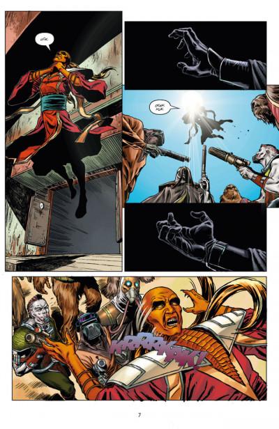 Page 3 Star Wars - le côté obscur tome 13 - Dark Maul, peine de mort