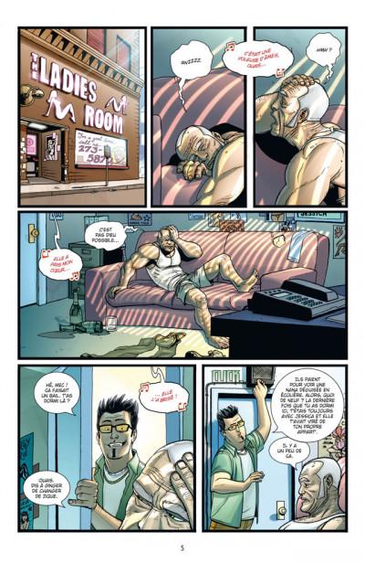 Page 1 Brit tome 3 - gueule cassée