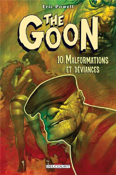 Couverture the goon T.10 - malformations et déviances