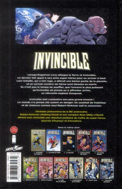Dos Invincible tome 11 - Toujours invaincu