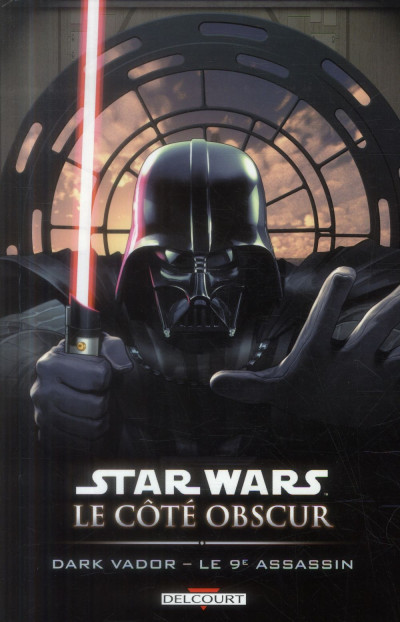 Couverture Star Wars Le Coté obscur Tome 14 - Dark Vador - Le 9ème assassin